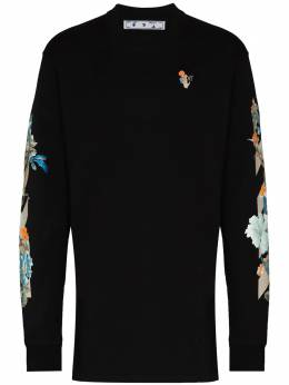 Off-White X Browns 50 floral sweatshirt dress OWDB098G20FLE0021020