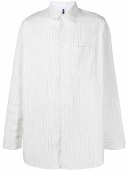 Oamc loose pinstripe button-up shirt OAMR600836OR370100B