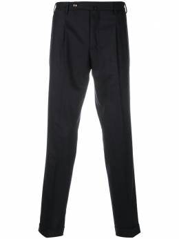 Pt01 slim-fit tailored trousers 1COHF22ZS0ANDCM14