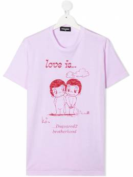 Dsquared2 Kids TEEN illustration-print T-shirt DQ04J6D003L