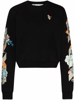 Off-White X Browns 50 floral sweatshirt OWBA026G20FLE0031020