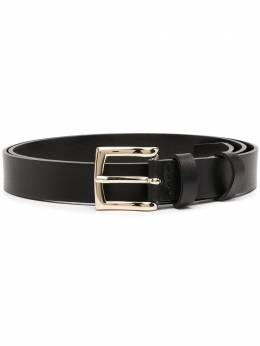 Semicouture black leather belt Y0WX50