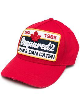 Dsquared2 logo patch cap BCM036405C00001