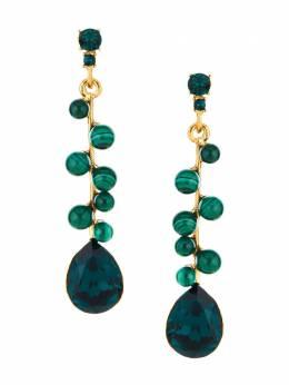 Oscar De La Renta gemstone drop earrings P20J1311XMGA