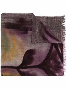 Faliero Sarti silk-cashmere blend abstract print scarf I212148