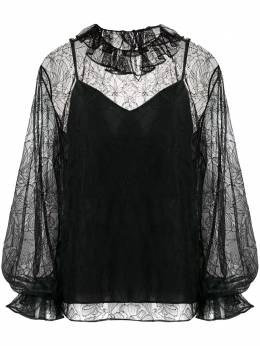 Valentino floral lace blouse UB0AE5C05WF