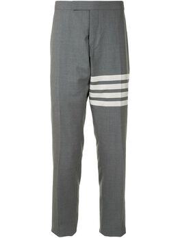 Thom Browne брюки строгого кроя с полосками 4-Bar MTC159A06146
