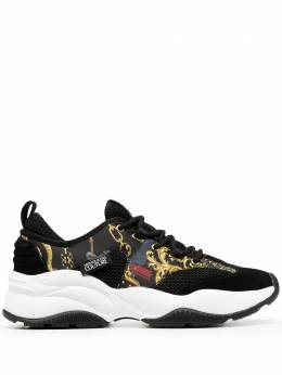 Versace Jeans Couture baroque print sneakers E0YZBSI871772