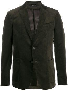 Z Zegna corduroy single-breasted blazer 8717101VDUG0