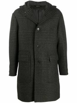 Z Zegna checked hooded coat 8977414GYMG0