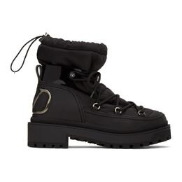 Valentino Black Valentino Garavani Trekkgirl Ankle Boots UW0S0AF6DFY