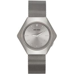 Issey Miyake Men Silver Konstantin Grcic Roku Watch NYAM001Y