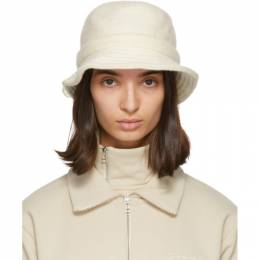Jacquemus Off-White Wool Le Bob Gadjo Beach Hat 203AC06-203 513110