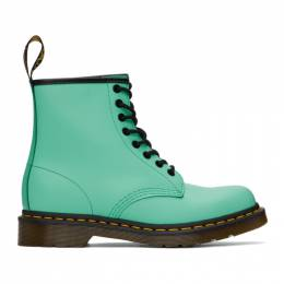 Dr. Martens Green 1460 Smooth Lace-Up Boots 26069983