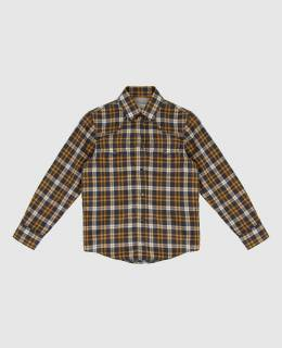 Детская темно-серая рубашка Brunello Cucinelli 2300006360060