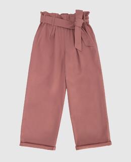 Детские розовые брюки Brunello Cucinelli 2300006358647