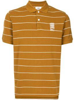 Kent & Curwen полосатая рубашка поло с вышитым логотипом K37H9TM05085