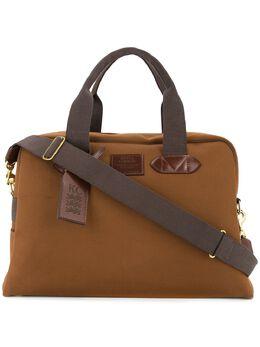 Kent & Curwen дорожная сумка с контрастной отделкой K3795ER03088
