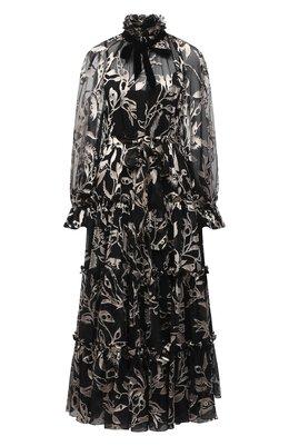 Платье из шелка и вискозы Zimmermann 9257DLAD