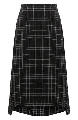 Шерстяная юбка Alexander McQueen 642000/QJAB5