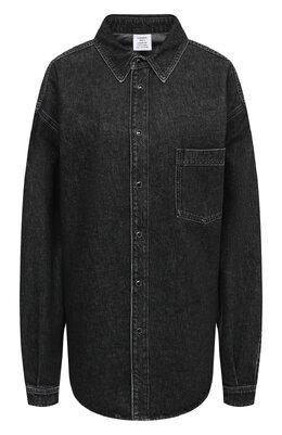 Джинсовая рубашка Vetements UAH21SH043 2801/W