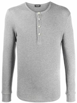 Dsquared2 collarless polo shirt D9MF53360