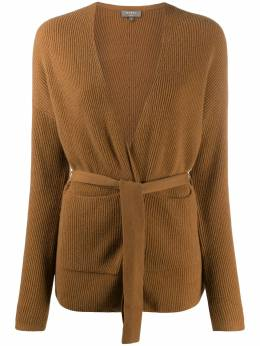 N.peal tied cashmere cardigan NPW001924