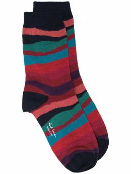 Paul Smith abstract striped socks W1A086DEF357