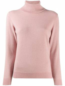 N.peal sparkle fine knit jumper with roll neck NPW001867
