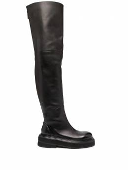 Marsell over-the-knee leather boots MW6221118