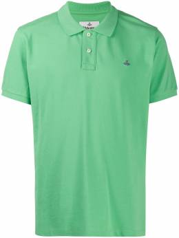Vivienne Westwood Orb embroidered polo shirt 2601002521681M401
