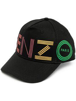 Kenzo Kids TEEN logo embroidered cap KR90518