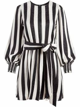 Alice + Olivia Estefana striped mini dress CC008P27509