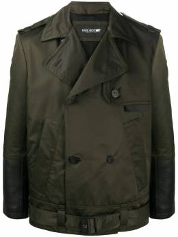 Neil Barrett double-breasted military jacket BCA341CBP130C
