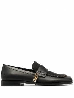J.W. Anderson whipstitch two-tone loafers AN35509A12050