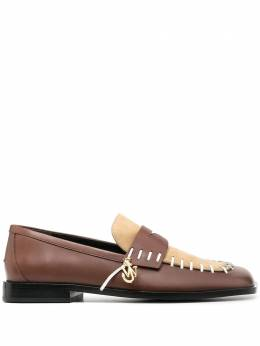 J.W. Anderson whipstitch two-tone loafers AN35509A12052
