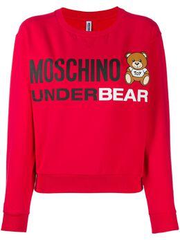 Moschino толстовка Underbear свободного кроя A17099006