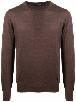 Tagliatore crew neck fine knit sweater BUDD567GSI2011
