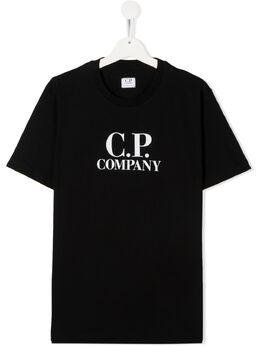 C.P. Company Kids TEEN graphic print T-shirt 09CKTS027C005792W
