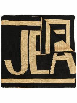 Versace Jeans Couture intarsia knit logo scarf EBYZBH5080082