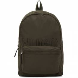 Hugo Green Convertible Reborn Backpack 50437489