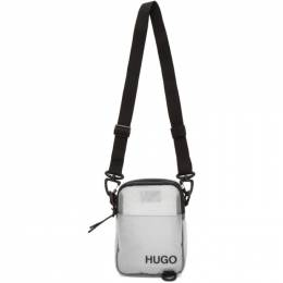 Hugo Grey Mini Cyber Bag 50434827