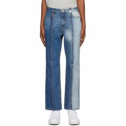 Ader Error Indigo Collage Roah Jeans BTAFWJE10BL