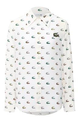 Шелковая рубашка Lacoste CF3616