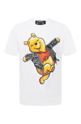 Хлопковая футболка Dom Rebel HAPPY/B0X T-SHIRT
