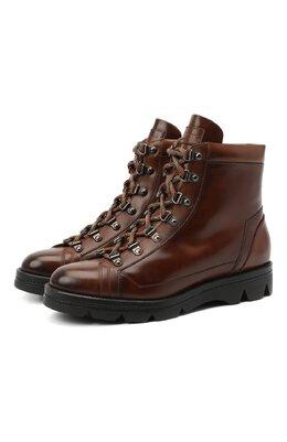Кожаные ботинки Santoni WTUD58933SM0NLESC45