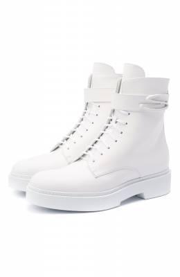 Кожаные ботинки Santoni WTHW58873TISNW0PI50