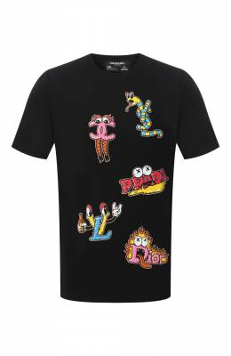 Хлопковая футболка Dom Rebel LUXURY/B0X T-SHIRT