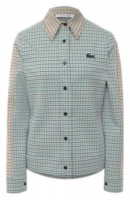 Хлопковая рубашка Lacoste CF4787