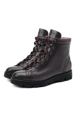 Кожаные ботинки Santoni WTUD58933SM0NLESG23